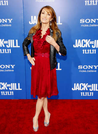jill: Jane Seymour at the Los Angeles premiere of Jack And Jill held at the Regency Village Theater in Westwood on November 6, 2011.