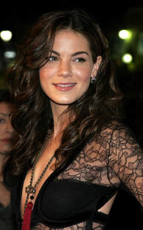 HOLLYWOOD, CA - OCTOBER 18, 2005: Michelle Monaghan at the Los Angeles premiere of Kiss Kiss, Bang Bang held at the Graumans Chinese Theater in Hollywood, USA on October 18, 2005.