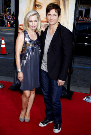 garth: Jennie Garth and Peter Facinelli at the Los Angeles premiere of Letters To Juliet held at the Graumans Chinese Theater in Hollywood on May 11, 2010.