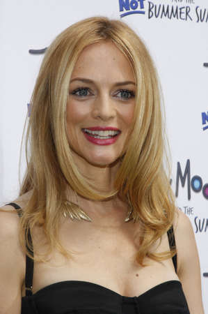 Heather Graham at the Los Angeles premiere of Judy Moody And The Not Bummer Summer held at the ArcLight Cinemas in Hollywood on June 4, 2011. Редакционное