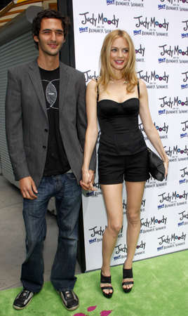 silva: Heather Graham and Jason Silva at the Los Angeles premiere of Judy Moody And The Not Bummer Summer held at the ArcLight Cinemas in Hollywood on June 4, 2011.