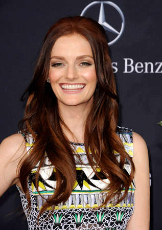 dolby: Lydia Hearst at the Los Angeles premiere of Jurassic World held at the Dolby Theater in Hollywood, USA on June 9, 2015.