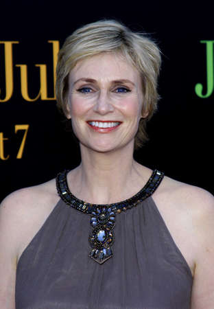jane: Jane Lynch at the Los Angeles premiere of Julie and Julia held at the Mann Village Theatre in Westwood, USA on July 26, 2009.