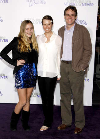 sean: Robert Sean Leonard at the Los Angeles premiere of Justin Bieber: Never Say Never held at the Nokia Theater L.A. Live in Los Angeles on February 8, 2011.