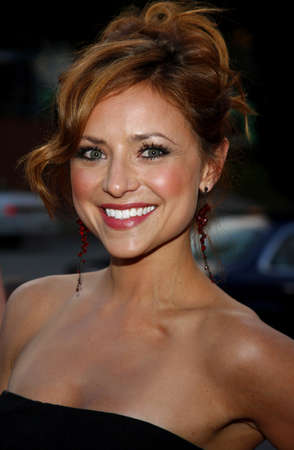 christine: Christine Lakin at the LG Electronics (LG) Launch of the Scarlet HDTV Series held at the Pacific Design Center in West Hollywood, USA on April 28, 2008.