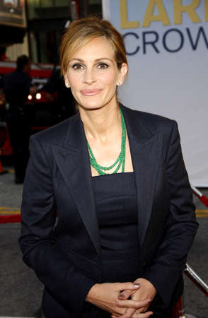 roberts: Julia Roberts at the Los Angeles premiere of Larry Crowne held at the Graumans Chinese Theater in Hollywood on June 27, 2011.