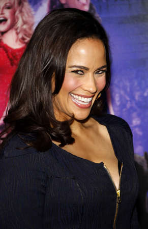 patton: Paula Patton at the Los Angeles premiere of Joyful Noise held at the Graumans Chinese Theatre in Hollywood, USA on January 9, 2012.
