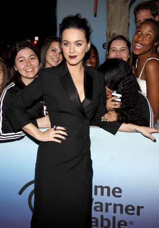perry: Katy Perry at the World Premiere of EPIXs Katy Perry: The Prismatic World Tour held at the Ace Hotel Theater in Los Angeles, USA on March 26, 2015.