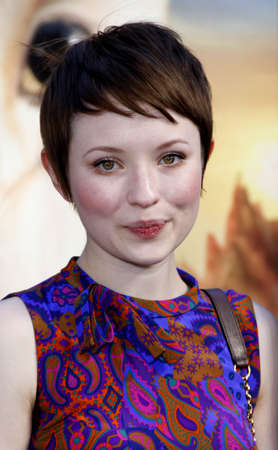 Emily Browning at the Los Angeles premiere of Legends of the Guardians: The Owls of GaHoole held at the Graumans Chinese Theater in Hollywood, USA on September 19, 2010.