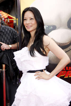 liu: Lucy Liu at the Los Angeles premiere of Kung Fu Panda 2 held at the Graumans Chinese Theater in Hollywood, USA on May 22, 2011.