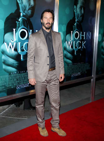 wick: Keanu Reeves at the Los Angeles premiere of John Wick held at the ArcLight Cinemas in Los Angeles on October 22, 2014 in Los Angeles, California.