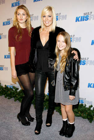 garth: Jennie Garth at the KIIS FMs Jingle Ball 2012 held at the Nokia Theatre LA Live in Los Angeles, USA on December 1, 2012.