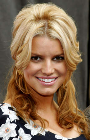 blockbuster: Jessica Simpson at the Blockbuster Total Access Launch held at the Kodak Theatre in Hollywood, USA on November 2, 2006.
