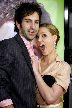 katherine: Katherine Heigl and Josh Kelley at the Los Angeles Premiere of Knocked Up held at the Mann Village Theatre in Westwood, USA on May 21, 2007. Editorial