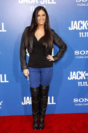 patti: Patti Stanger at the Los Angeles premiere of Jack And Jill held at the Regency Village Theatre in Westwood on November 6, 2011. Editorial