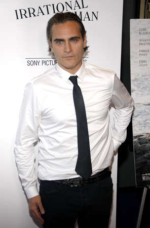 joaquin: Joaquin Phoenix at the Los Angeles premiere of Irrational Man held at the WGA Thereat in Beverly Hills, USA on July 9, 2015.