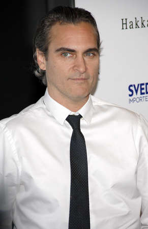 joaquin: Joaquin Phoenix at the Los Angeles premiere of Irrational Man held at the WGA Theater in Beverly Hills, USA on July 9, 2015. Editorial