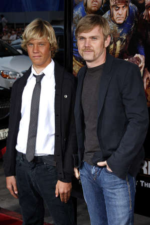 rick: Rick Schroeder and son Holden at the World Premiere of Leatherheads held at he Graumans Chinese Theater in Hollywood, USA on March 31, 2008. Editorial