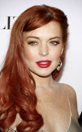 Lindsay Lohan at the Los Angeles premiere of Liz & Dick held at the Beverly Hills Hotel in Beverly Hills, USA on November 20, 2012. Editorial