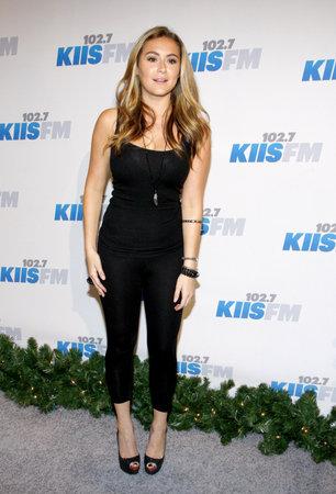alexa: Alexa Vega at the KIIS FMs Jingle Ball 2012 held at the Nokia Theatre LA Live in Los Angeles, USA on December 1, 2012. Editorial