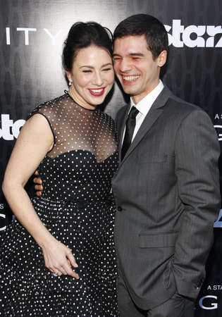 steven: Lynn Collins and Steven Strait at the Los Angeles premiere of Starz Series Magic City held at the DGA Theater in Hollywood, USA on March 20, 2012.