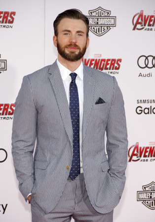 evans: Chris Evans at the World premiere of Marvels Avengers: Age Of Ultron held at the Dolby Theater in Hollywood, USA on April 13, 2015.