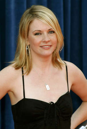 hollywood   california: Melissa Joan Hart attends the World Premiere of Meet The Robinsons held at the El Capitan Theater in Hollywood, California on March 25, 2007.