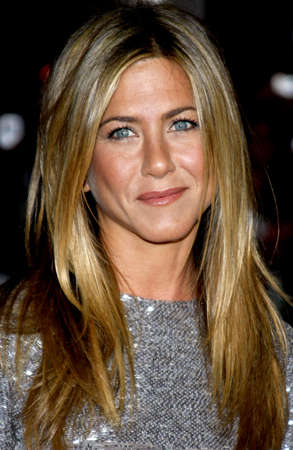 Jennifer Aniston at the Los Angeles premiere of 'Love Happens' held at the Mann's Village Theater in Westwood on September 15, 2009. Редакционное