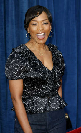Angela Bassett attends the World Premiere of Meet The Robinsons held at the El Capitan Theater in Hollywood, California on March 25, 2007.
