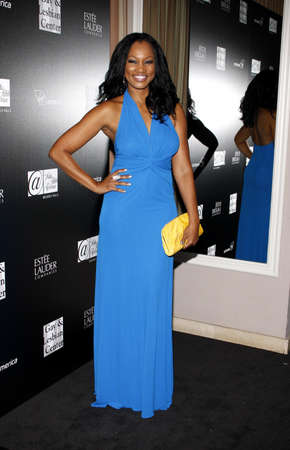 premieres: Garcelle Beauvais at the Los Angeles Gay And Lesbian Center Homeless Youth Services Benefit held at the Sunset Tower in West Hollywood on January 23, 2012. Editorial