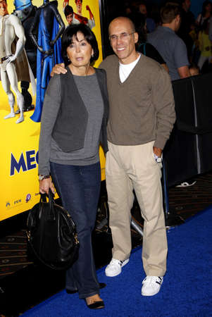 jeffrey: Jeffrey Katzenberg and Marilyn Katzenberg at the Los Angeles premiere of Megamind held at the Hollywood and Highland in Hollywood, USA on October 30, 2010. Editorial