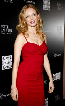 Heather Graham at the Los Angeles Gay And Lesbian Center Homeless Youth Services Benefit held at the Sunset Tower in West Hollywood, USA on January 23, 2012.
