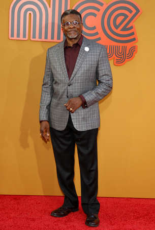 keith: Keith David at the Los Angeles premiere of The Nice Guys held at the TCL Chinese Theatre in Hollywood, USA on May 10, 2016. Editorial