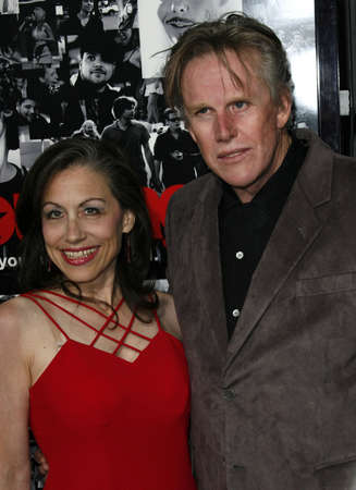 roberts: Gary Busey and Vicky Roberts at the season 3 premiere of HBOs Entourage held at the Cinerama Dome in Hollywood, USA on April 5, 2007.