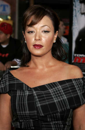 leah: Leah Remini at the Los Angeles fan screening of Mission: Impossible 3 held at the Graumans Chinese Theatre in Hollywood, USA on May 4, 2006.
