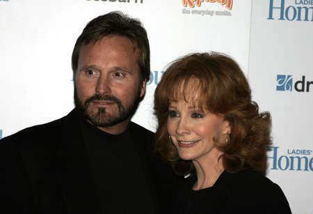 honors: Reba McEntire and Narvel Blackstock at the Ladies Home Journal honors Funny Ladies We Love held at the Pearl in West Hollywood, USA on February 2, 2005.
