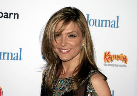 west hollywood: Debbie Matenopoulos at the Ladies Home Journal honors Funny Ladies We Love held at the Pearl in West Hollywood, USA on February 2, 2005.