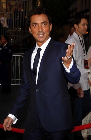 tides: Bruno Tonioli at the Los Angeles premiere of Pirates Of The Caribbean: On Stranger Tides held at the Disneyland in Anaheim on May 7, 2011. Editorial