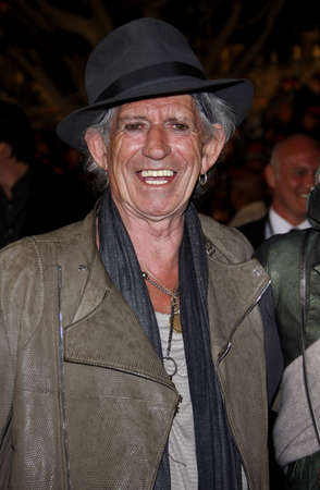 keith: Keith Richards at the Los Angeles premiere of Pirates Of The Caribbean: On Stranger Tides held at the Disneyland in Anaheim on May 7, 2011.