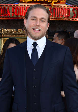 Charlie Hunnam at the Los Angeles premiere of 'Pacific Rim' held at the Dolby Theater in Hollywood on July 9, 2013 in Los Angeles, California.