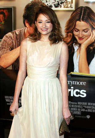 bennett: Haley Bennett attends the Los Angeles Premiere of Music and Lyrics held at the Graumans Chinese Theater in Hollywood, California on February 7, 2007.