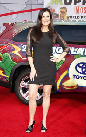 patti: Patti Stanger at the Los Angeles premiere of Muppets Most Wanted held at the El Capitan Theatre in Los Angeles, United States, 110314.