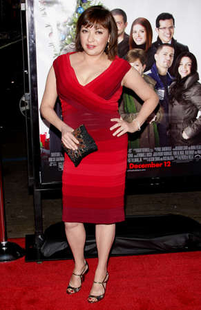Elizabeth Pena at the Los Angeles premiere of 'Nothing Like The Holidays' held at the Grauman's Chinese Theater in Hollywood on December 3, 2008.