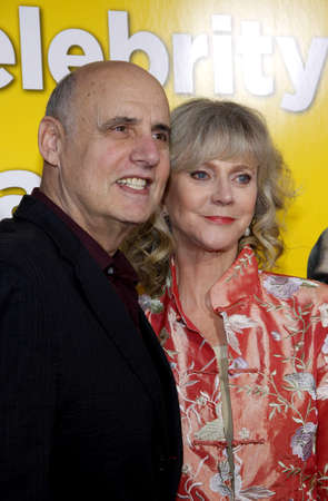 jeffrey: Jeffrey Tambor and Blythe Danner at the Los Angeles Premiere of 'Paul' held at the Grauman's Chinese Theater in Hollywood, USA on March 14, 2011.