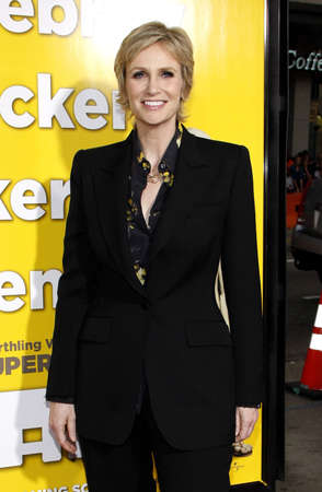 jane: Jane Lynch at the Los Angeles Premiere of 'Paul' held at the Grauman's Chinese Theater in Hollywood, USA on March 14, 2011.