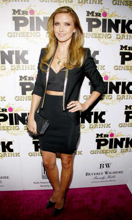 Audrina Patridge at the Mr. Pink Ginseng Drink Launch Party held at the Regent Beverly Wilshire Hotel in Beverly Hills, USA on October 11, 2012. Publikacyjne