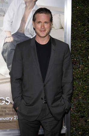 Cary Elwes at the Los Angeles premiere of 'No Strings Attached' held at the Regency Village Theater on January 11, 2011. 報道画像