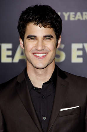 Darren Criss at the Los Angeles premiere of New Years Eve held at the Graumans Chinese Theater in Hollywood on December 5, 2011.