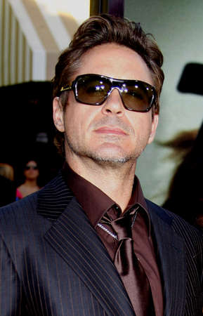 orphan: Robert Downey Jr. at the Los Angeles premiere of Orphan held at the Mann Vilage Theater in Westwood, USA on July 21, 2009. Editorial