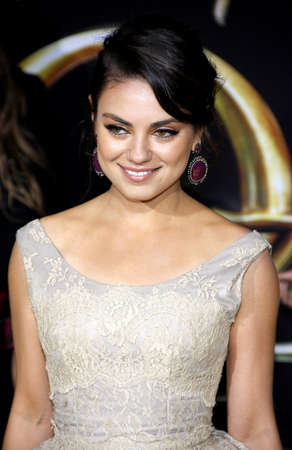 dolby: Mila Kunis at the Oz The Great And Powerful Los Angeles Premiere at the Dolby Theater on April 10, 2013 in Hollywood, California.